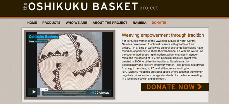 The Oshikuku Basket Project